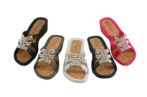 Linea Scarpa ALCORA Zapatillas baño Zapatillas y Zapatos informales Mujer fucsia