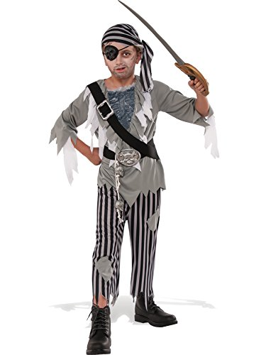 Rubie's Costume Child's Ghostly Boy Pirate Costume, Medium, Multicolor]()