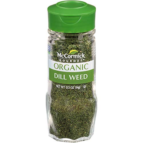 McCormick Organic Dill Weed, 0.5 oz (Packaging May Vary)