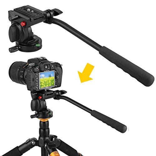 Kamisafe KINGJOY KH-6750 Flexible Aluminum Camera Tripod Hea