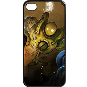 Custom personalized Protective Case for iPhone 4/4s - Game League of Legends LOL Blitzcrank