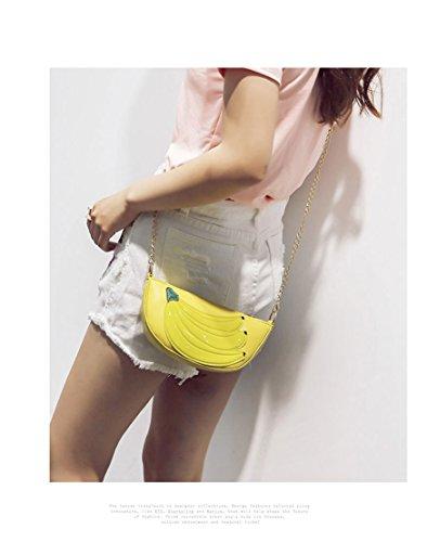 MILATA, Borsa a tracolla donna giallo Yellow