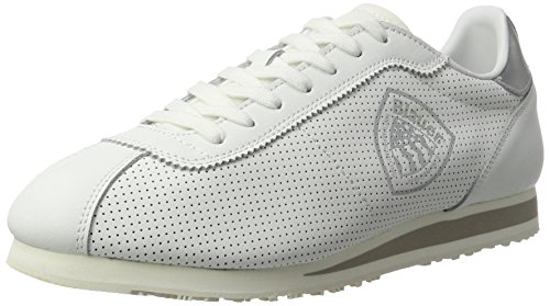 Blauer USA Herren Bowling Sneakers, Weiß (White), 44 EU