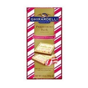 Ghirardelli Peppermint Bark Bar 3.5 Oz (3 Pack) Limited Edition