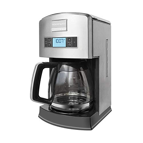 Frigidaire Professional Pro-Select Digital 12-Cup Coffee Maker, Stainless Steel FPAD12D7PS