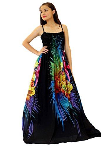 Women Black Summer Dress Maxi Plus Size Graduation Chiffon ...