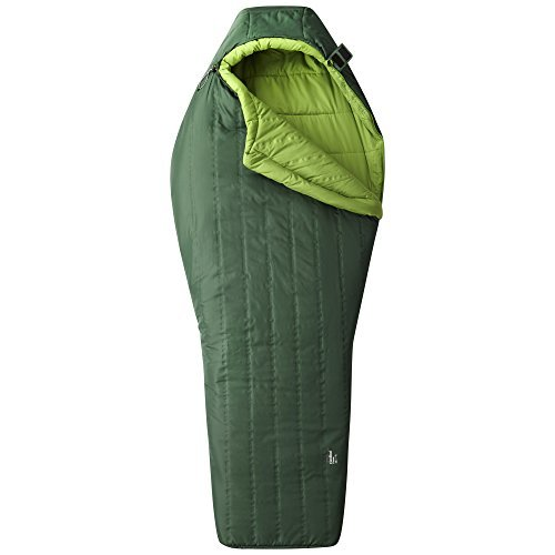 Mountain Hardwear Hotbed Flame 20 Sleeping Bag - Forest Long/Right Zip [並行輸入品] B07C971N7T