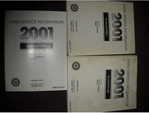 2001 oldsmobile aurora service repair shop manual set 3 volume set rh amazon com 1999 Olds Aurora 2000 Olds Aurora