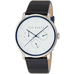 Ted Baker Men's 10023491 Classic Analog Display Japanese Quartz Black Watch