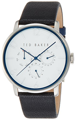 Ted Baker Men's 10023491 Classic Analog Display Japanese Quartz Black - Mens Watches Baker Ted