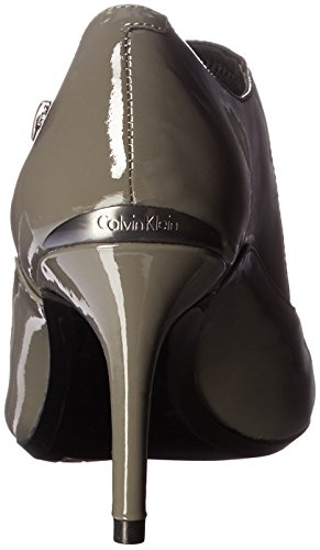 Calvin US Pump Women's Klein Jalana Shadow M 8 Grey Black Dress gvrgwIxP