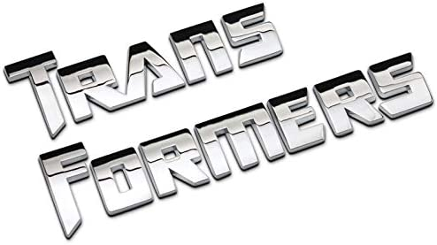 Color : Black Csfssd Personalisierte dekorative Transformers Autobot Logo des Autos 3D Standard modifizierte Heck TF K/örperaufkleber Metall Auto kleben Aufkleber