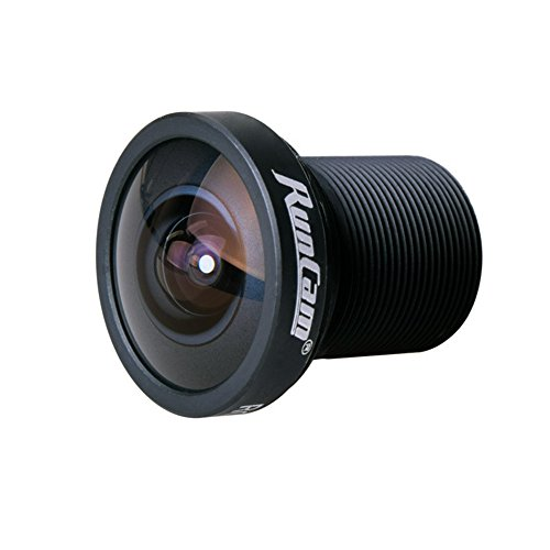 Crazepony RunCam RC25G FPV Camera Lens 2.5mm FOV 140 Degree Wide Angle for Runcam Swift 2 Camera by RunCam