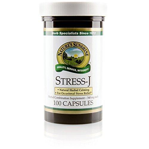NATURE'S SUNSHINE Stress-J Capsules, 100 Count