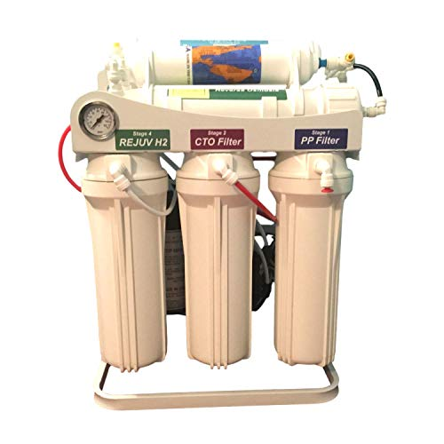(Jett Water Systems 200 GPD 7 Stage Alkaline, Antioxidant, Remineralized Water Reverse Osmosis System)