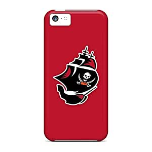 Leeler Fashion Protective Tampa Bay Buccaneers 7 Case Cover For Iphone 5c