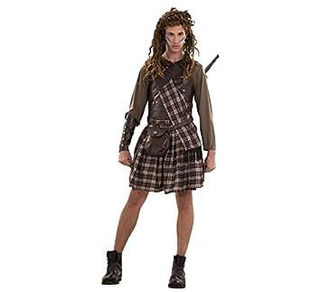 Disfraz Guerrero Escocés para hombre: Amazon.es: Juguetes y ...