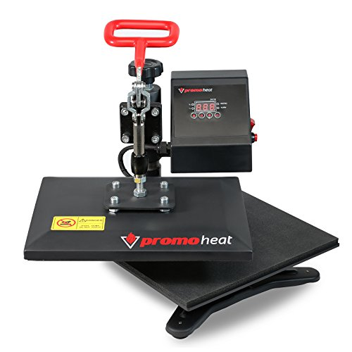 Promo Heat 12 in. x 10 in. Swing-away Sublimation Heat Press Transfer Machine