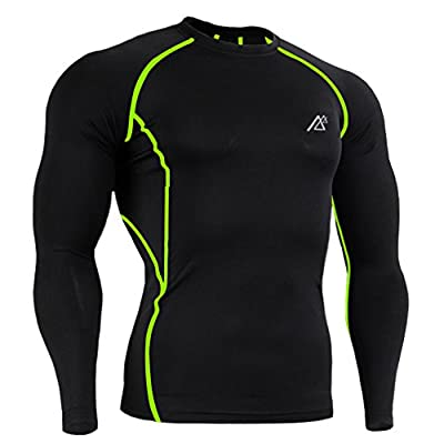 Men's Long Sleeve Compression T-Shirts Base Layers Activewear Sports shirt Cool Dry Quick Underlayer Top Shirts
