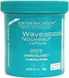 Wave Nouveau Phase 1 Conditioning Cold Wave For Normal/Medium Hair 14.1oz by Soft Sheen-Carson Professional