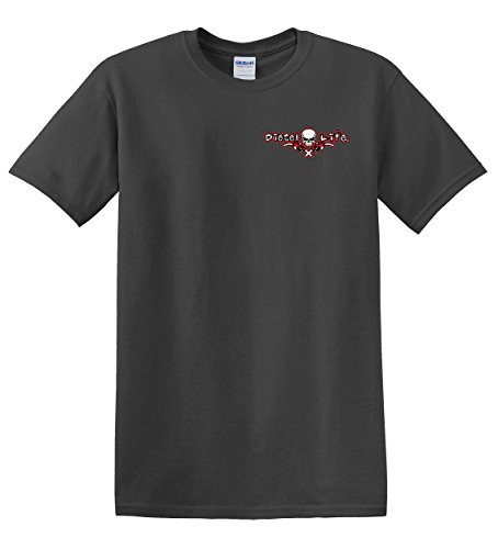 54ebeab2065866 70%OFF Gas Mask Short Sleeve T-Shirt - Charcoal - refreshfinancial.co.uk