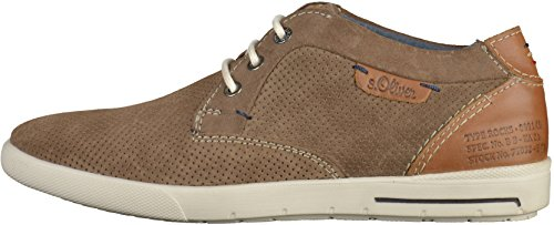 s.Oliver - Zapatos Hombre Beige(Mud)
