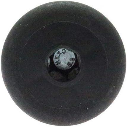 rosca M8 muebles patas de repuesto 60 mm de di/ámetro Pack de 4 patas roscadas para sof/á patas de muebles altura ajustable