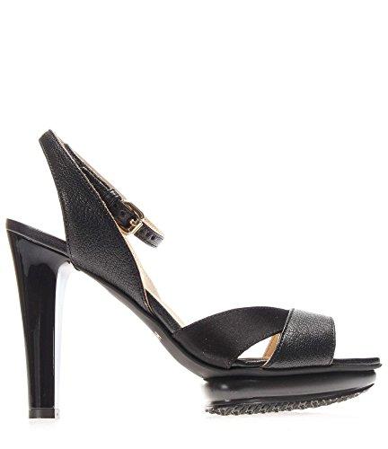 Hogan Sandal HXW2470U830CTMB999 H247 Women's Sandal Nero SDKb7zAxQL