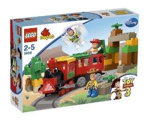 LEGO (レゴ) Duplo (デュプロ) 5659 - Toy Story: The Great Train Chase ブロック おもちゃ (並行輸入)   B00JA8V9UI