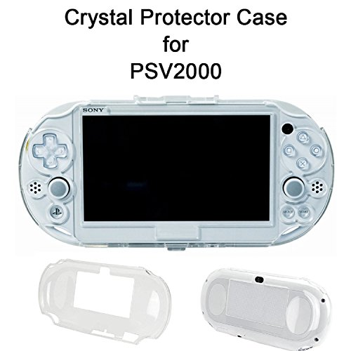 SNNC PlayStation Vita 2000 Full cover Skin Crystal Clear Hard Case For (2000 Crystal)