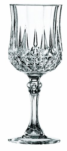 Cristal D'Arques Longchamp Small Wine Glass 5 3/4oz (Box of 6)