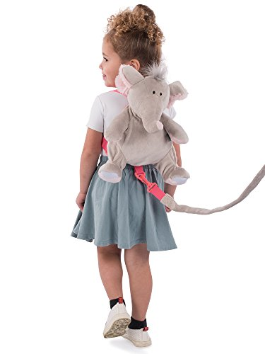 Animal Plant Baby Backpack and Safety Harness, By-My-Side Child Leash, Backpack Reins, Child Leash, Baby Walking Safety Harness, Elephant