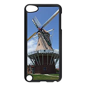 Windmill Images Ideal Phone Shell,This Shell Fit To iPod Touch 5