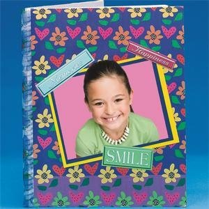 Blank Scrapbook 10'' x 8'', 20 pages by S&S Worldwide