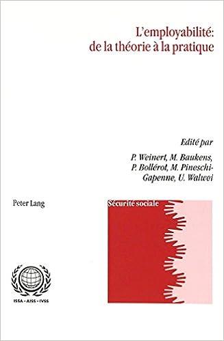 L Employabilite: de La Theorie a la Pratique pdf epub