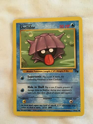 Pokemon - Shellder (54) - Fossil - 1st Edition -  Nintendo