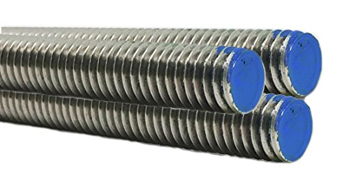 Stainless Steel Fully Threaded Rod - Marine Bolt Supply (1/2-13 x 3FT (Bundle of 3))
