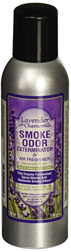 Tobacco Outlet Products Smoke Odor Exterminator 7oz Large Spray, Lavender With Chamomile (Best Spray For Smoke Smell)