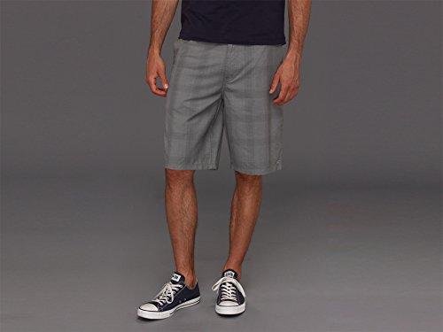Plaid Walkshort (O'Neill Men's Delta Short, Grey 13, 44)