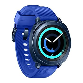 Amazon.com: Samsung Gear Sport Smartwatch (Bluetooth), Blue ...