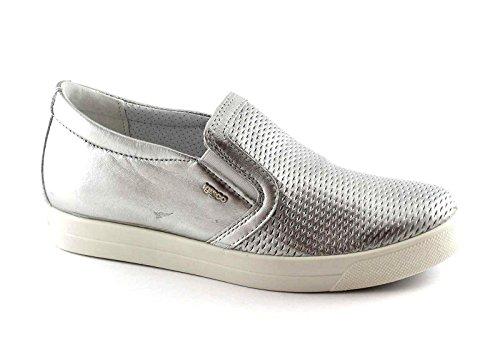Scarpe Argento Sneaker Igi Slip Stampa Alluminio 77903 amp;co On Donna wvxHIF
