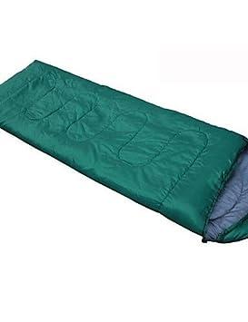 Saco de dormir del ejército (Azul/Verde) - Resistente al agua verde verde: Amazon.es: Deportes y aire libre