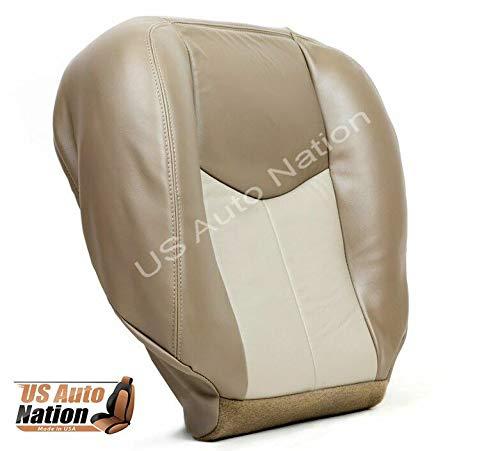 US Auto Nation GMC Sierra Yukon Denali Front Driver Bottom Seat Cover 2 Tone Tan