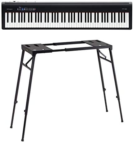 Roland fp30 BK Pack – Piano Digital con soporte: Amazon.es ...