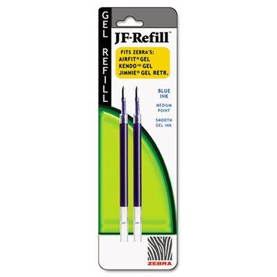 Zebra JF Refill for Jimnie Gel RT/Sarasa/Z-Grip Gel Roller Ball, Med, BE, (Jimnie Gel Pens)