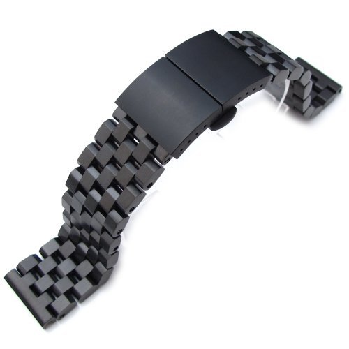 21.5mm SUPER Engineer Type II Solid Stainless Steel Watch Bracelet, Seiko Tuna Replacement Band by Seiko Replacement by MiLTAT