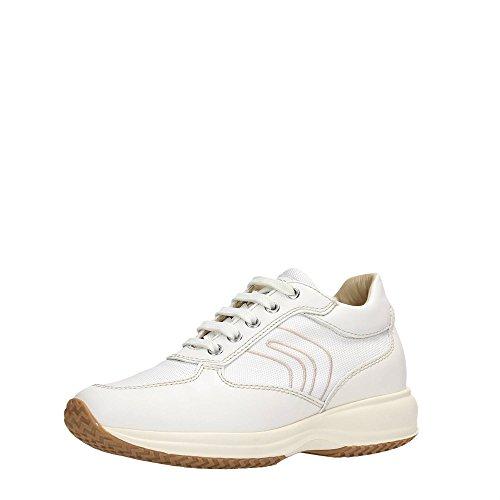 Geox - Zapatillas para mujer blanco blanco