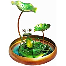 Continental Art Center CAC40178 Frog Fountain, 9.84 by 9.84 by 16.14-Inch