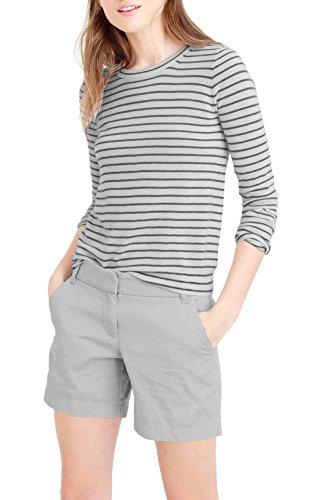 (HyBrid & Company Womens Super Comfy Bermuda Walking Short BW31201 Light Grey 5)