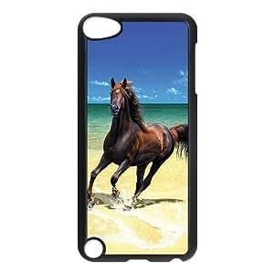 Custom Horse Phone Case Back Cover Case For iPod Touch 5th Shaken de ipd317